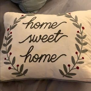 """Home Sweet Home"" Accent Pillow"